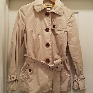 J.crew spring khaki jacket, size 2